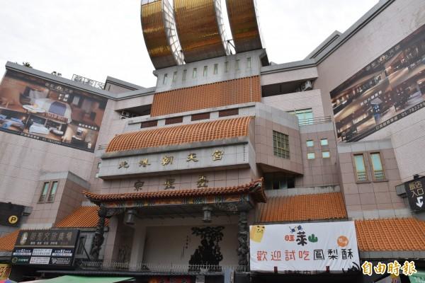 北港第一公有市場閒置10多年,現變身為高級飯店。(記者黃淑莉攝)