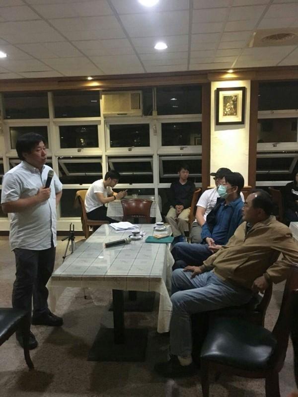 東華大學舉辦「我對吳茂昆當教育部長的期待」座談,發起的教師會理事長張鑫隆肯定吳茂昆在東華任內的作為。(學生提供)