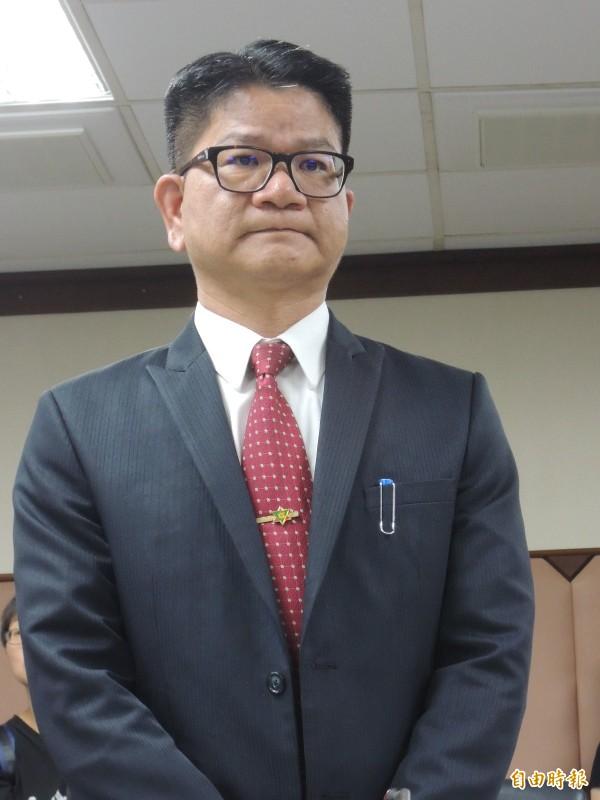 高市農業局長鄭清福(記者王榮祥攝)