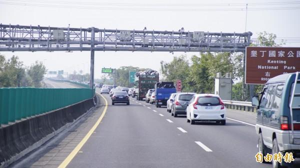 國道三南州交流道讓當地交通更為方便。(記者陳彥廷攝)