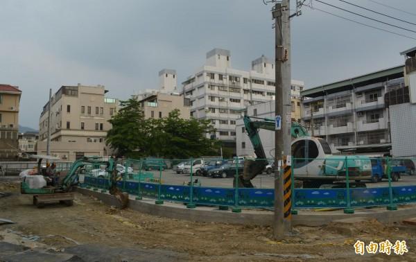 市府斥資1億3千多萬,在太平東和里闢設兒童公園,預計5月中動工,10月完工啟用。(記者陳建志攝)