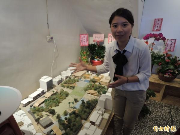 薛呈懿擁有城市規劃專業背景。(記者江志雄攝)