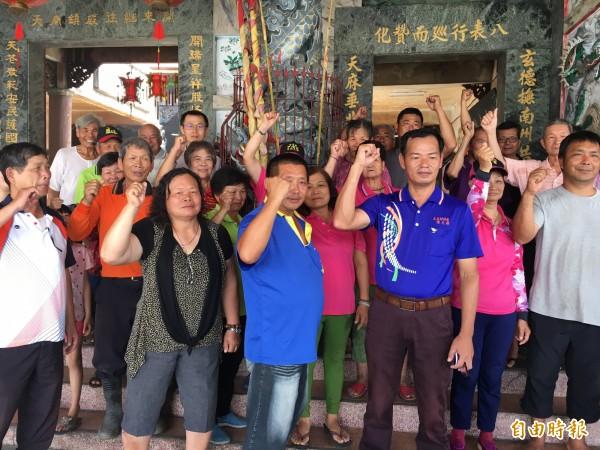 大庄老人食堂希望台北市議員不要再炒新聞了,他們不排除北上辦桌給議員吃。(記者顏宏駿攝)
