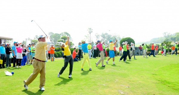 第15屆全國EMBA高爾夫球聯誼賽,將於5月18日在台中國際高爾夫球場登場。(靜宜大學提供)