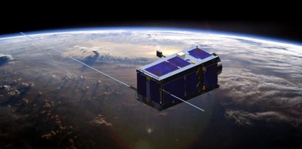 成功大學參與歐盟主辦的跨國QB50計畫自主發展鳳凰立方衛星,已在軌成功運作1週年。(莊智清提供)