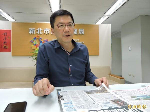 總統府祕書長陳菊指高雄發電經常支援北部,污染卻在高雄。對此,新北市政府發言人張其強表示,「我們只有一個台灣,不需要區分南北,也不要分別縣市。」(記者賴筱桐攝)