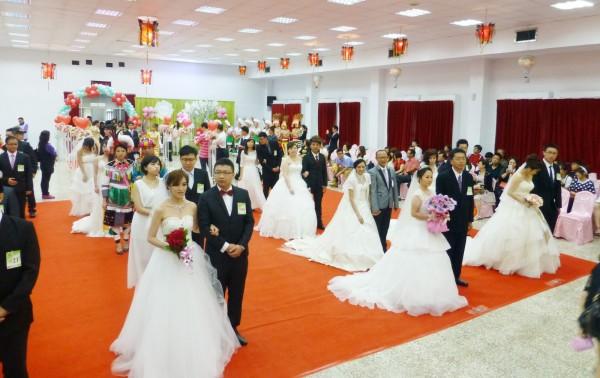 基隆市政府今年將再度舉辦聯合婚禮(基隆市政府提供攝)
