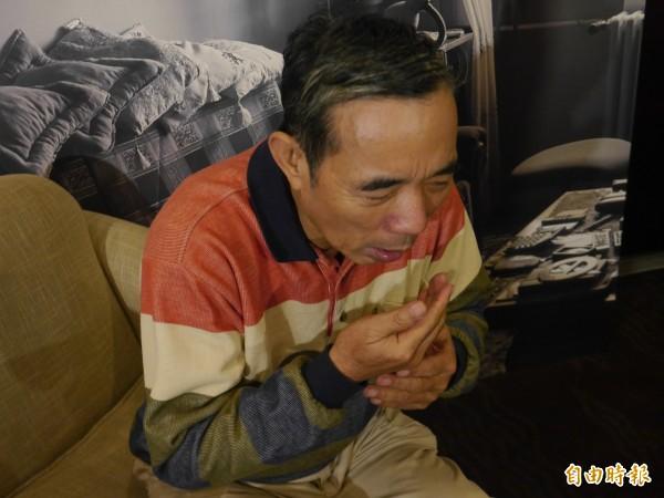 醫師建議,若有咳嗽超過3週的情況,可進一步就醫檢查;圖為情境照,圖中人物與本文無關。(記者林惠琴攝)
