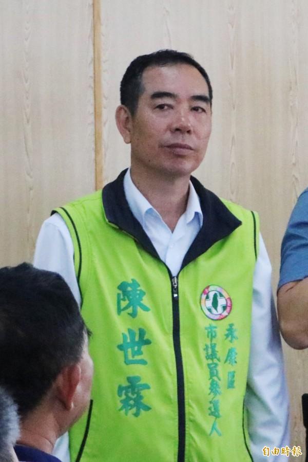 民進黨中執會今確定台南市議員永康選區將多提名1位參選人,徵召日前民調第4名的陳世霖投入選戰。(資料照)