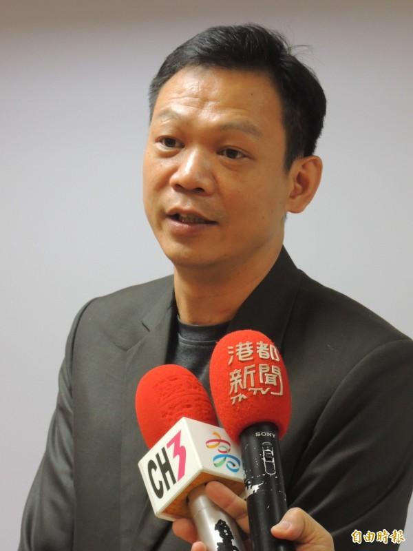 高市新聞局長張家興(記者王榮祥攝)