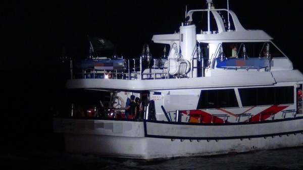 載21人海釣船機艙失火船長及時撲滅- 社會- 自由時報電子報