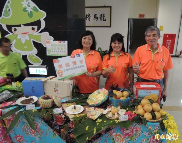 三灣鄉梨鄉休閒農業區,將推出特色梨餐創意料理。(記者張勳騰攝)