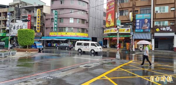 高市一連2天下雨,水情仍未解除旱象。(記者陳文嬋攝)