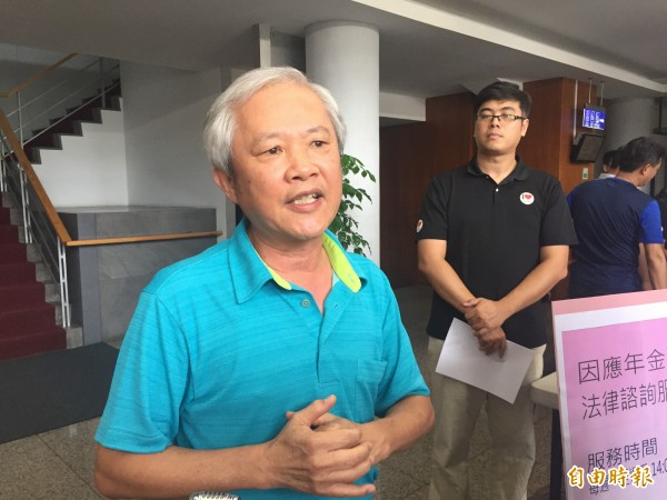 副縣長陳金虎表示,台東縣府也將提年改釋憲。(記者張存薇攝)