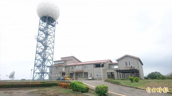 中央氣象局台南七股雷達站終於通過環評,要遷移了。(記者楊金城攝)