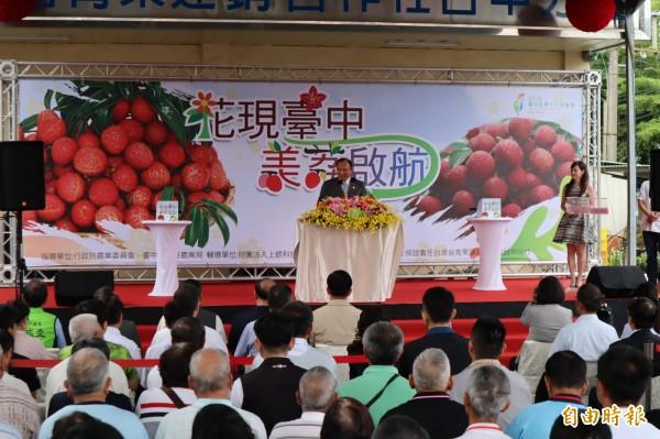 假新聞充斥,農委會主委林聰賢表示,國內針對自媒體應有所規範。(記者歐素美攝)