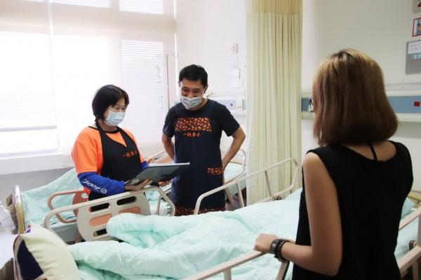 東基東基推「共聘」陪病照顧服務員制度,減輕有看護需求的病患及其家屬的經濟負擔。(記者王秀亭翻攝)