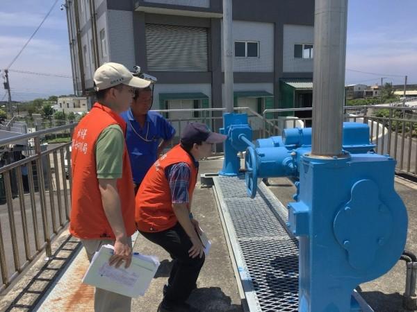 為因應可能大雨,水利署完成水災應變小組二級開設,進行相關整備。(水利署提供)
