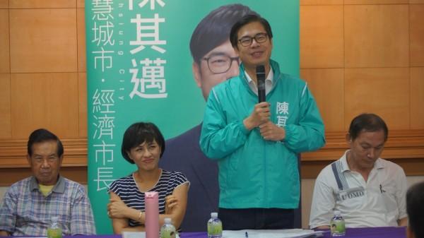 陳其邁認為高雄東九區很適合發展生態文化旅遊,相信可以成為高雄最核心的觀光聖地。(記者葛祐豪翻攝)