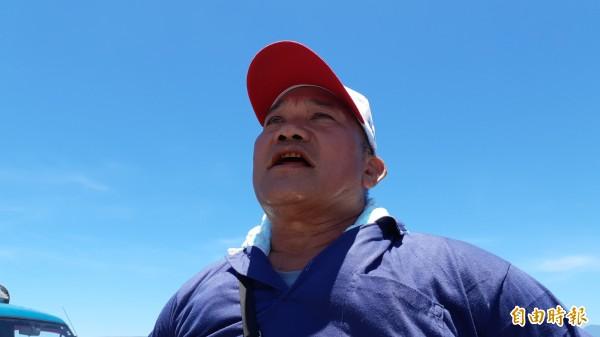 台東市阿美族馬蘭部落長老林建宏說「阿美族人每年辦海祭,很懂得怎樣最安全」。(記者黃明堂攝)