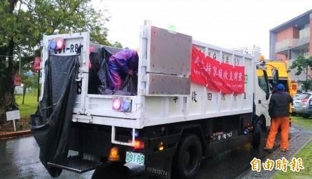 宜蘭縣今為垃圾停收日,因應環境清理需求,有8鄉鎮市今加班清運垃圾。(資料照片)