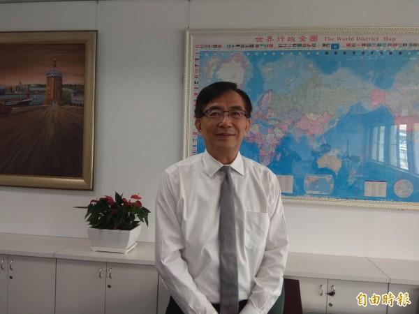 新任交通部長吳宏謀,提出3大施政主軸。(記者洪定宏攝)