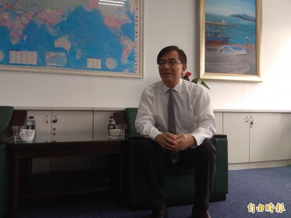 二度沉潛的吳宏謀,豁達與專業是他復出的關鍵。(記者洪定宏攝)