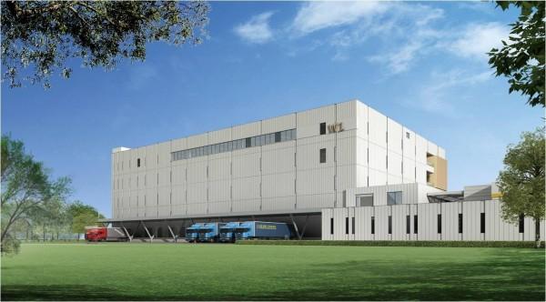 大江生醫全自動倉儲廠樓地板面積約5385坪,具備8238個倉儲儲位。(圖由大江生醫提供)
