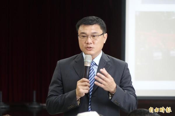 國民黨提名鹿港鎮代會主席許志宏參選鹿港鎮長。(資料照,記者劉曉欣攝)