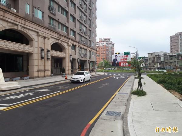 桃園區益壽七街共有三個路名,外地人根本搞不清楚。(記者謝武雄攝)