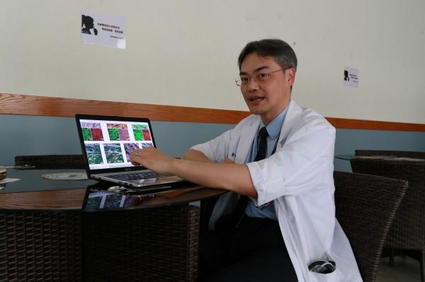 成功大學醫學院內科部臨床醫學副教授劉嚴文,參與美國西雅圖華盛頓大學「幹細胞與再生醫學研究中心」團隊,研究發現在心肌梗塞的猴子心臟移植「胚胎幹細胞分化的心臟肌肉細胞」,可再生出新的心臟肌肉,恢復心臟功能,且不會增加心律不整的風險。(成功大學提供)