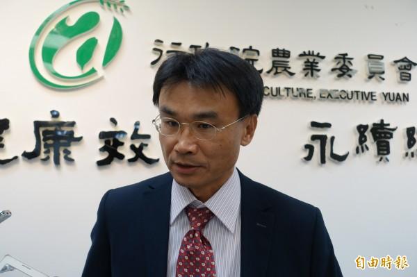 農委會副主委陳吉仲。(資料照,記者吳欣恬攝)