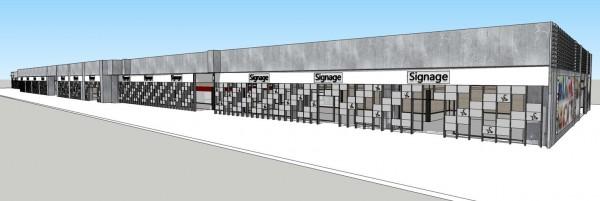 潮州車站商圈的形象圖。(記者邱芷柔翻攝)