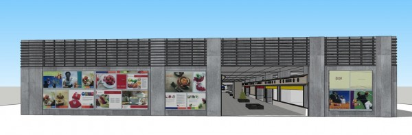 潮州火車站及公路轉運站即將完成共站規劃,並由屏東太平洋百貨入主經營,商場籌備處計畫趕在年底前營運,搶搭燈會人潮。(記者邱芷柔翻攝)