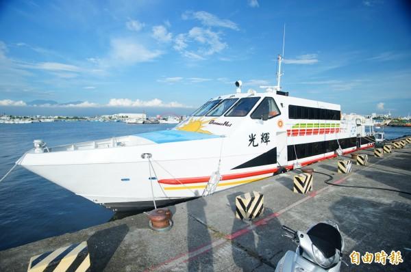 鹽琉線上週匆促開航,目前遊客仍不多,早去晚回的「夢幻航班」不用搶票!(記者陳彥廷攝)