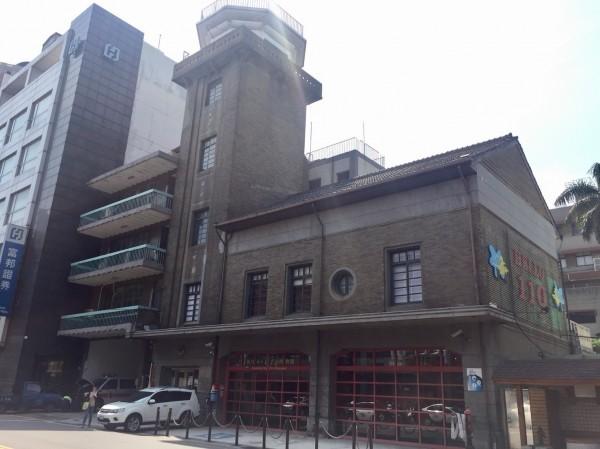 新竹市消防博物館。(市府提供)