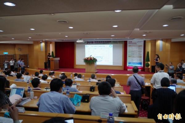 「2018國際製程安全論壇」今於六輕開幕,透過交流精進國內工安與製程安全。(記者林國賢攝)