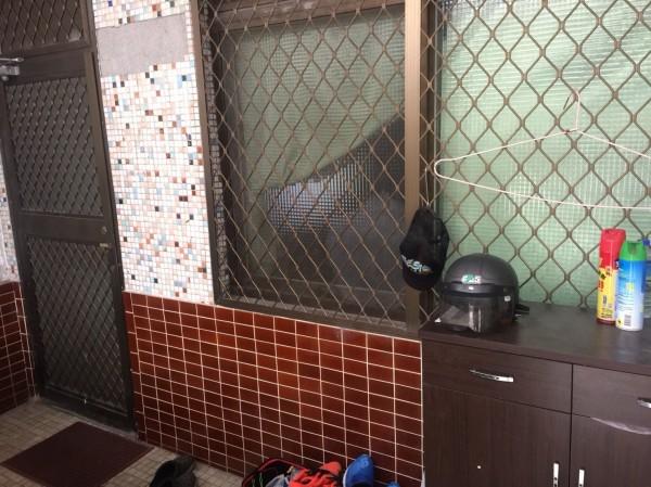 花蓮王姓婦人昨深夜準備外出,在自家門口鞋櫃取安全帽時,左手背被龜殼花咬傷。(記者王峻祺翻攝)