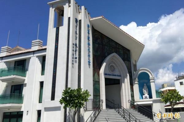 墾丁天主教中心。 (記者蔡宗憲翻攝)