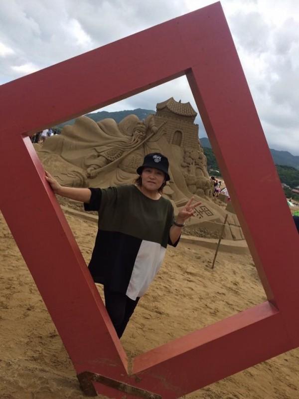 林小麗(見圖)家屬說,目前已知的醫藥費至少高達3000萬韓元,後續還不清楚要花費多少,亟需外界伸援。(詹婷提供)