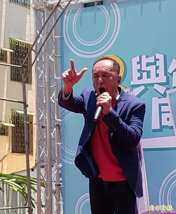 林義豐說,他將於週一登記首日前往選委會登記參選市長。(資料照,記者蔡文居攝)