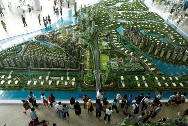 謝絕中國客炒房 大馬將禁外國人買「森林城市」