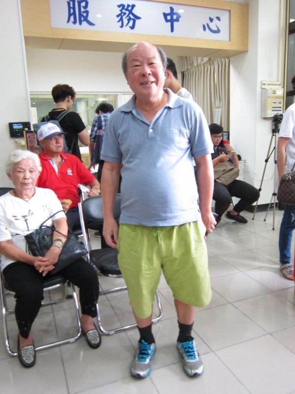 前民進黨立委許國泰將出任楊麗環競選總部文宣。(記者謝武雄攝)