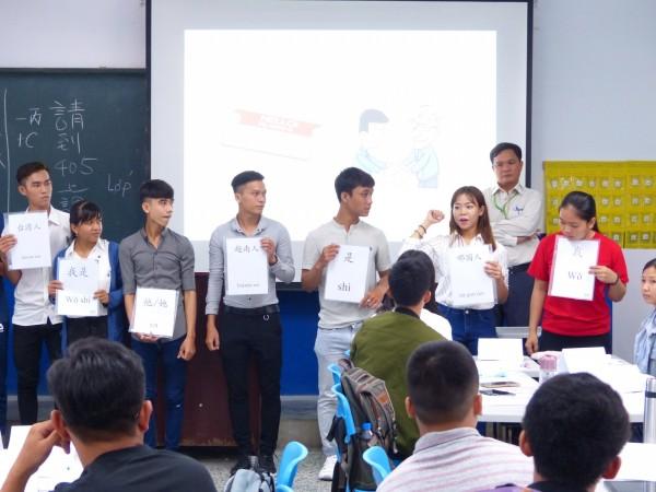 明新科技大學華語文教學中心通過教育部評鑑,核定為核准境外招生的華語文研習機構。 (明新科大提供)