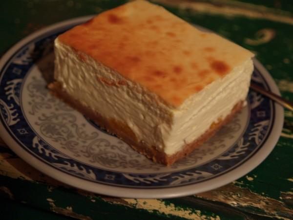 迪迪招牌的起司蛋糕。(記者蔡宗憲翻攝)