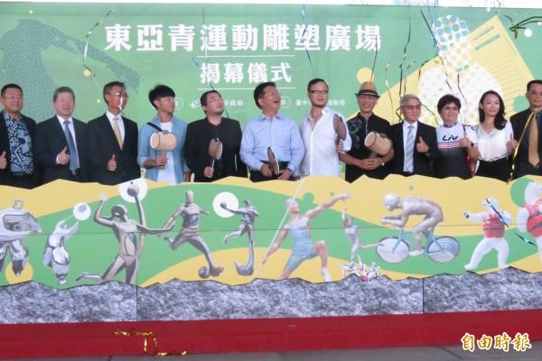 主辦東亞青運受阻,台中將自辦亞太青年運動會,創立台灣自己的運動比賽品牌。(記者蘇孟娟攝)