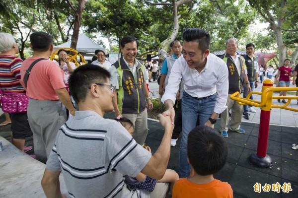 根據最新民調,新竹市民對市長林智堅施政表現滿意度超過七成。(記者蔡彰盛攝)