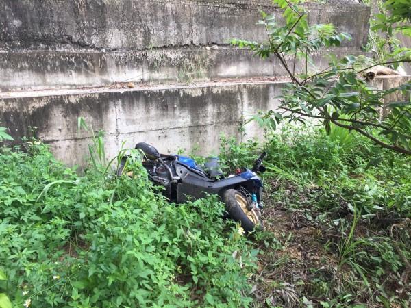 139線大彰路今天又傳出重大事故。(記者湯世名翻攝)