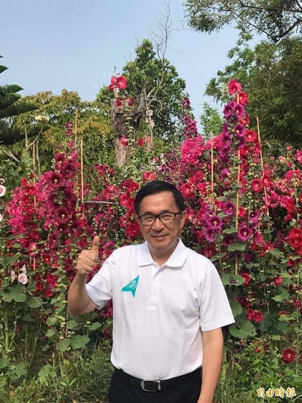 前總統陳水扁重申蔣介石是228元兇。(取自新勇哥物語)