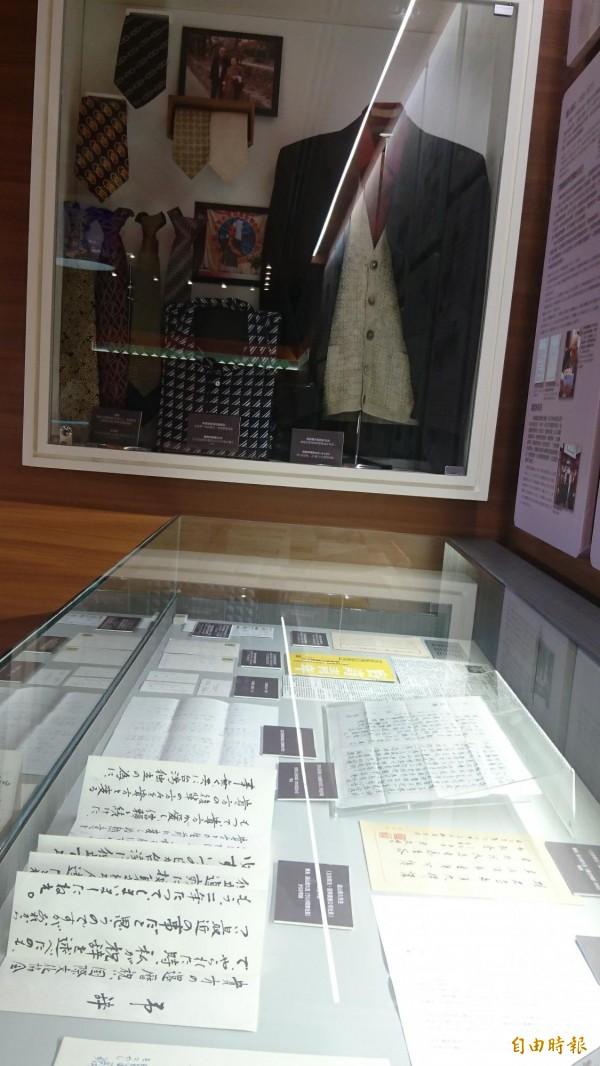 王育德紀念館開幕,展出王育德的文物及在台灣獨立運動、台語研究的努力。(記者劉婉君攝)